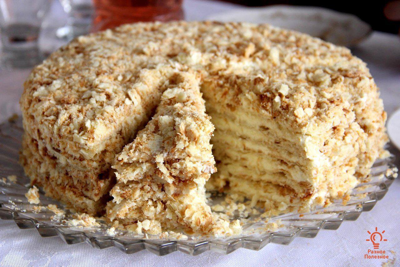 Торт«Светлана». Пошаговый Фото-рецепт