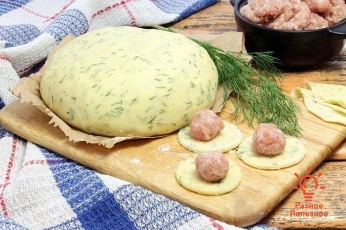 Тесто для пельменей и вареников – на кефире