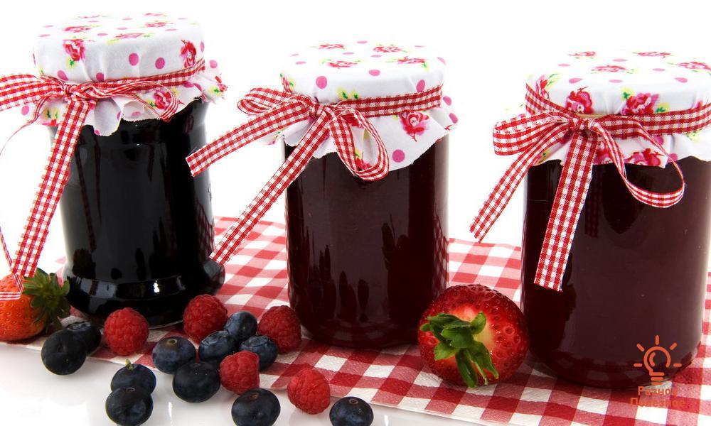 Варенье – ассорти из ягод и фруктов на зиму. Вкуснее не бывает. Рецепт с фото
