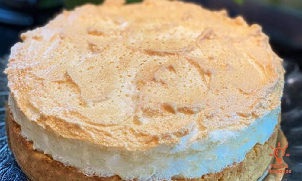 Торт «Слёзы ангела». Пошаговый рецепт с фото