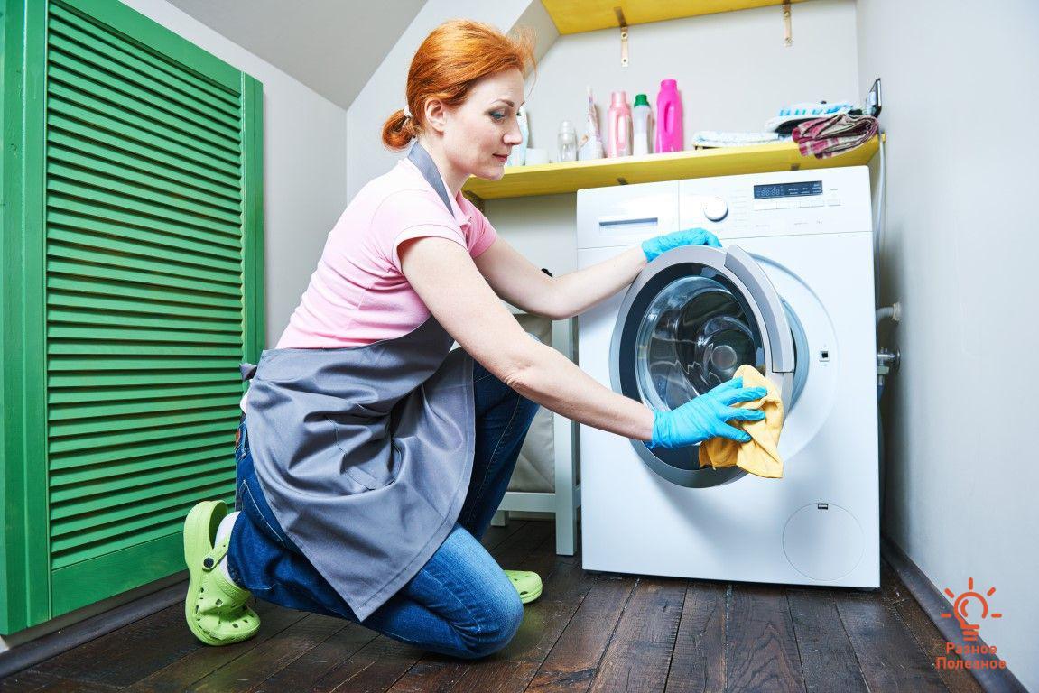 Как легко и быстро почистить стиральную машину своими руками