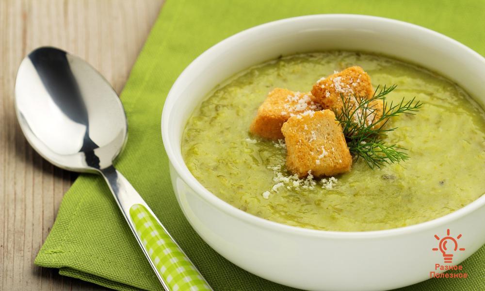 Суп-пюре из белокочанной капусты. Пошаговый рецепт с фото