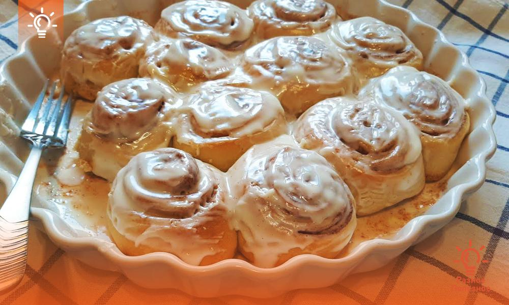 Булочки «Синнабон» классический рецепт