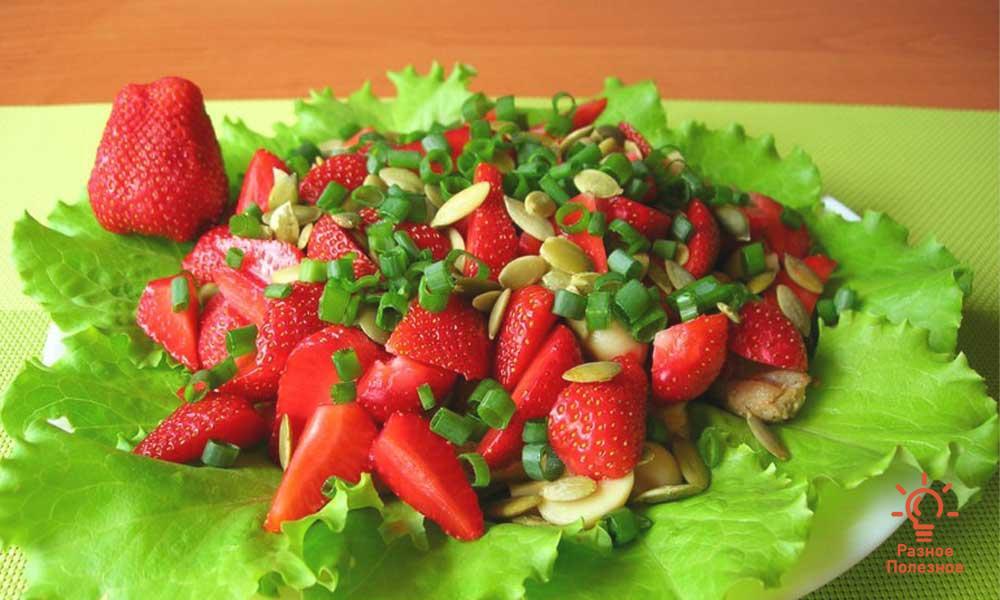 Вкусные и необычные салаты. 5 пошаговых рецептов