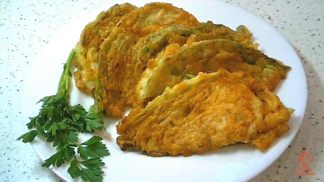 Гарнир из молодой капусты – самый быстрый рецепт