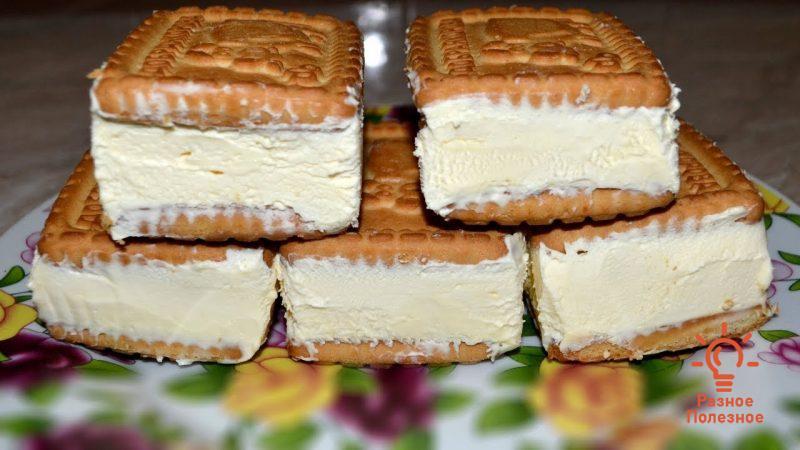 Божественный торт без выпечки. Пошаговый рецепт