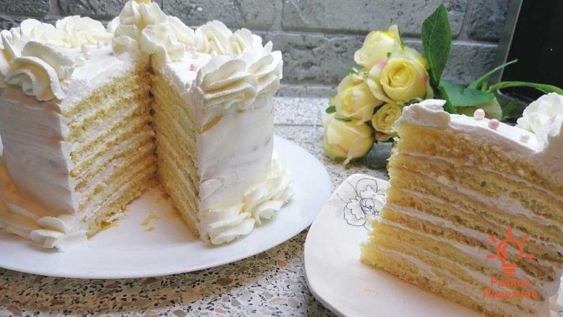 Торт Молочная девочка — рецепт пошагово с фото